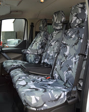 Load image into Gallery viewer, Ford Transit Custom Van Camo Seat Covers