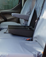 Load image into Gallery viewer, Transit Custom Van Tailored Seat Covers in Grey