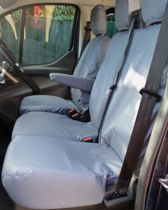 Ford Transit Van Grey Front Seat Covers
