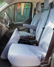 Load image into Gallery viewer, Ford Transit Van Grey Waterproof Seat Covers