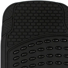 Load image into Gallery viewer, Black Rubber Floor Mats for Cars