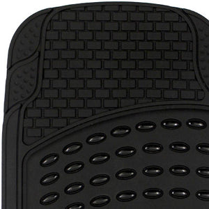 Black Rubber Floor Mats for Cars