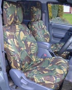 Toyota Hilux Tailored Camo Seat Covers - Mk6