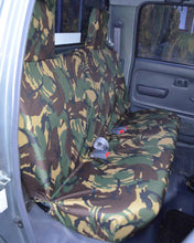 Load image into Gallery viewer, Toyota Hilux Tailored Rear Seat Covers - Mk6
