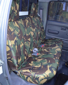Toyota Hilux Tailored Rear Seat Covers - Mk6