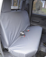 Load image into Gallery viewer, Toyota Hilux Tailored Seat Covers - Rear Grey EX Model