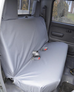 Toyota Hilux Tailored Seat Covers - Rear Grey EX Model