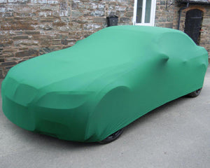 Green Car Cover for Audi A4