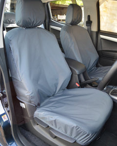 Isuzu D-Max Front Seat Covers - Grey