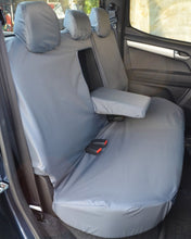 Load image into Gallery viewer, Isuzu D-Max Double Cab Rear Seat Covers