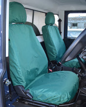 Load image into Gallery viewer, Land Rover Defender Green Tailored Seat Covers