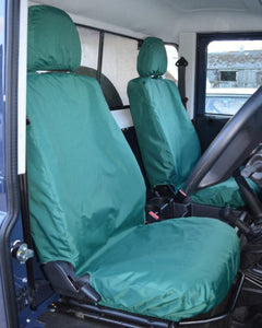 Land Rover Defender Green Tailored Seat Covers