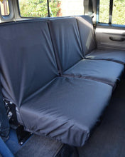 Load image into Gallery viewer, Land Rover Defender Seat Covers - 2nd Row Black