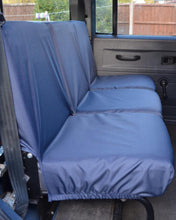 Load image into Gallery viewer, Land Rover Defender Seat Covers - 2nd Row Blue