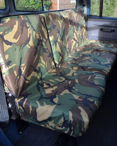 Land Rover Defender Seat Covers - 2nd Row Camouflage