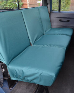Land Rover Defender Seat Covers - 2nd Row Green