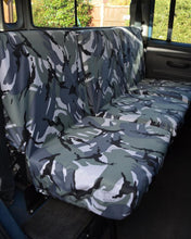 Load image into Gallery viewer, Land Rover Defender Seat Covers - 2nd Row Camo