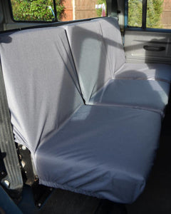 Land Rover Defender Seat Covers - 2nd Row Grey