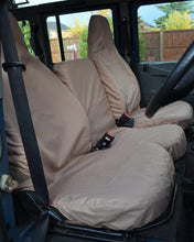 Load image into Gallery viewer, Land Rover Defender Beige Seat Covers