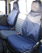 Load image into Gallery viewer, Land Rover Defender Blue Seat Covers