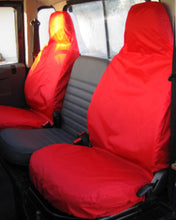 Load image into Gallery viewer, Land Rover Defender Bright Red Seat Covers
