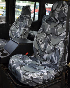 Land Rover Defender Camo Seat Covers