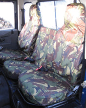 Load image into Gallery viewer, Land Rover Defender Camouflage Seat Covers