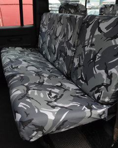 Land Rover Defender Rear Seat Covers - Camouflage