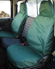 Load image into Gallery viewer, Land Rover Defender Green Seat Covers