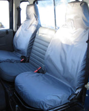 Load image into Gallery viewer, Land Rover Defender Grey Seat Covers