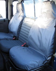 Land Rover Defender Grey Seat Covers