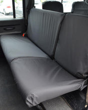 Load image into Gallery viewer, Land Rover Defender Rear Seat Covers - Black