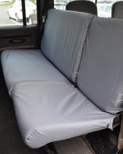 Land Rover Defender Rear Seat Covers - Double