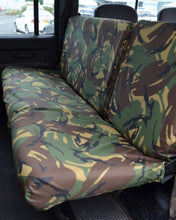 Load image into Gallery viewer, Land Rover Defender Rear Seat Covers - Green Camo
