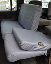 Load image into Gallery viewer, Land Rover Defender Rear Seat Covers - Grey