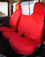Load image into Gallery viewer, Land Rover Defender Red Seat Covers