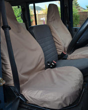 Load image into Gallery viewer, Land Rover Defender Sand Seat Covers
