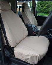 Load image into Gallery viewer, Land Rover Discovery II Beige Seat Covers