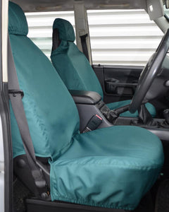Land Rover Discovery II Green Seat Covers