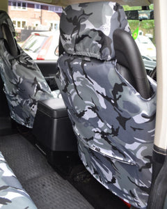 Land Rover Discovery II Seat Covers with Map Pockets