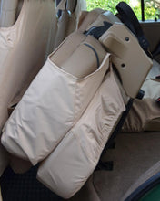 Load image into Gallery viewer, Land Rover Discovery Seat Covers - Beige Rear