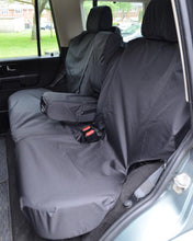 Load image into Gallery viewer, Land Rover Discovery Seat Covers - Rear Black