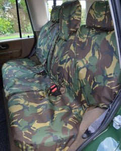 Land Rover Discovery Rear Seat Covers - Camouflage