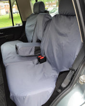Load image into Gallery viewer, Land Rover Discovery Rear Seat Covers - Grey