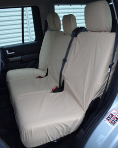 Land Rover Discovery 3 Cream Rear Seat Covers