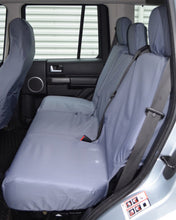 Load image into Gallery viewer, Land Rover Discovery 3 Grey Rear Seat Covers