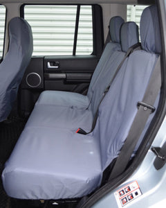 Land Rover Discovery 3 Grey Rear Seat Covers
