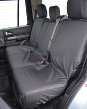 Load image into Gallery viewer, Land Rover Discovery 3 Black Rear Seat Covers