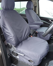 Load image into Gallery viewer, Mercedes-Benz Vito Van Seat Covers - Grey
