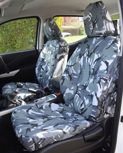 Mercedes-Benz X-Class Tailored Camo Seat Covers